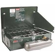 coleman stove manual amazon com coleman 2 burner dual fuel compact liquid fuel stove