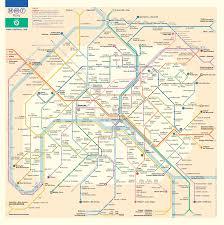 Direction Map Metro Map Of Paris
