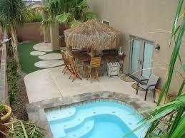tropical themed dual master suites tiki bar bbq huge spa pano