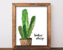 modern cactus ring holder images Cactus decor etsy jpg