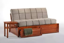 Daybed With Storage Night U0026 Day Furniture Jefferson Daybed
