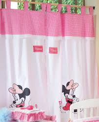 Mickey And Minnie Window Curtains by Baby Bedding Sets Disney Baby Minnie Mouse Flower 4 Piece Crib Set