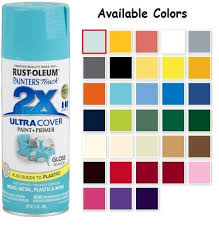 rust oleum painter u0027s touch acrylic gloss spray paints color spray