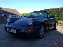 1990 porsche 911 carrera 2 porsche 911 964 carrera 2 cabriolet manual transmission 1990 h