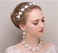 bridal headwear online shop new ravishing handmade flower beaded bridal headwear