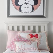 minnie mouse really ruffle boudoir pillow by ethan allen shopdisney