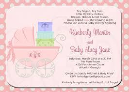 Baby Shower Invitation Card Sample Baby Shower Invitation Wording Kawaiitheo Com