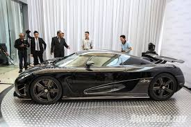 supercar koenigsegg price naza swedish unveiled the 400km h koenigsegg agera s in malaysia