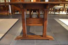 arts and crafts table for lovely arts and crafts dining table rare oak period by arthur
