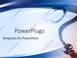templates powerpoint crystalgraphics powerpoint template simple medical theme with stethoscope fading in