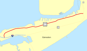 Galveston Map Texas State Highway 275 Wikipedia