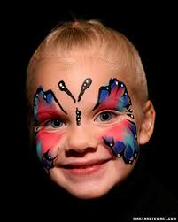 halloween face painting martha stewart living these quick and