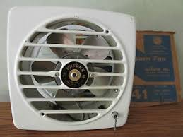 vintage nutone kitchen wall exhaust fan vintage nutone exhaust pull chain model 8141 new old stock wall fan