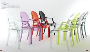 Polycarbonate Chairs Polycarbonate Ghost Chair Polycarbonate Chair With Armrest Clear