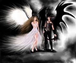 angels and demons halloween party angel and demon forbidden love angel and demon by theliazein