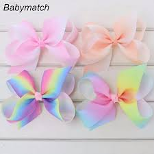 handmade bows online shop babymatch handmade rainbow bows gift ribbon bow for