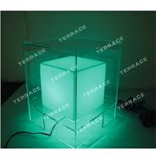 Acrylic Bedroom Furniture by Led Lucite Nightstands Acrylic Lighting Bedside Tables Perspex