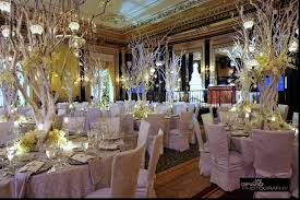impressive winter wedding reception decorations superb wedding