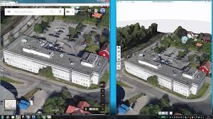 Pics Photos Google Maps View Maps And Find Local by Combining Google Maps Photogrammetry And Pointcloud Into Revit
