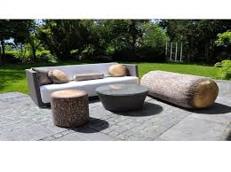 canapé de jardin design jardin salon de jardin design awesome jardin contemporain design