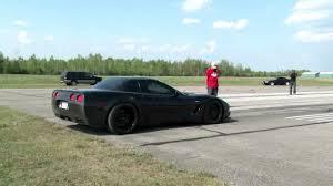 1000 hp corvette 1000hp z06 corvette launch 254kph 158mph racetherunway