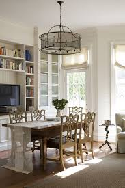 Dining Room Drum Chandelier Wall Trim Design Dining Room Traditional With Drum Chandelier