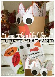 turkey headband thankful turkey headband u create