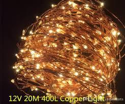 12v Led Light String by Cheap Copper Led Lights 12v Outdoor Christmas String Fairy