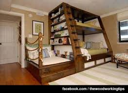 66 best bunk bed plans images on pinterest woodwork nursery and
