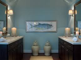 bahtroom pastel wall paint for nautical bathroom decor ideas with