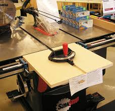 bosch safety table saw infeed table saw extension by grenger lumberjocks com