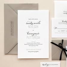 Wedding Samples 415 Best Letterpress Wedding Invitation Images On Pinterest