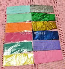 mylar tissue paper wholesale 14inch 35cm mylar tissue paper tassel garland shiny
