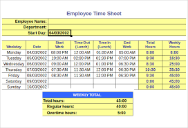 how to make a timesheet in excel employee timesheet calculator timesheet calculator with lunch