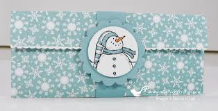 christmas money holder stampin u0027 up 12 days of christmas 12 2012