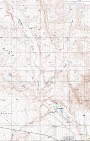 Bear Lake Utah Map by Topographic Map Of Wahweap Creek Grand Staircase Escalante