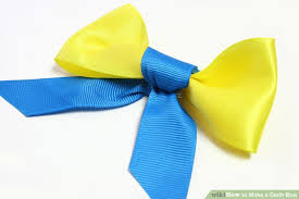 cloth ribbon 3 ways to make a cloth bow wikihow