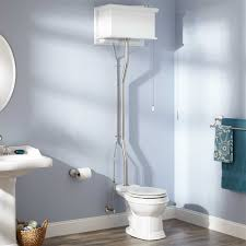 vintage bathroom ideas exceptional white high tank toilet with pedestal washbasin also wall