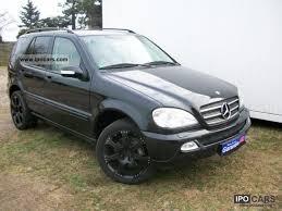 2003 mercedes benz ml350 xenon leather lpg auto gas german