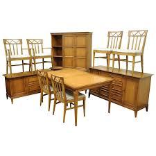 Broyhill Living Room Set Mid Century Modern Broyhill Premier Dining Room Set Walnut Wood