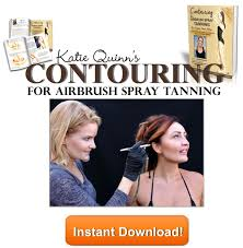 contouring for airbrush spray tanning with katie quinn