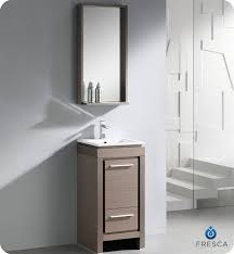 22 Inch Bathroom Vanities 22 Inch Single Sink Narrow Depth Furniture Bathroom Vanity With
