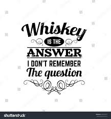 vector quote typographical background about whiskey stock vector