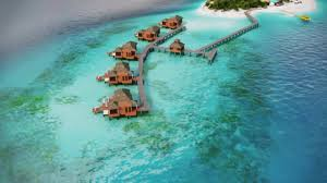 sandals resorts u2013 over the water villas youtube
