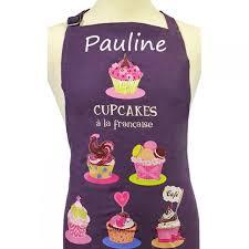 tablier cuisine femme tablier de cuisine femme cupcakes à la française