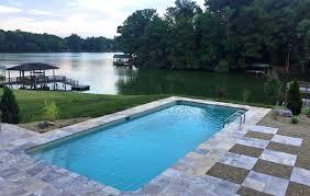 new great lakes in ground fiberglass pool by san juan tri cities tennessee customer testimonial swimming pools