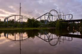 Six Flags Parking Exploring Abandoned Theme Park Six Flags New Orleans Brunette