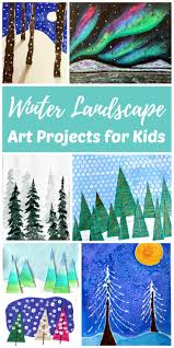 the best winter art projects for kids and teens rhythms of play