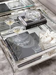 estelle mirrored coffee table eichholtz harvey square coffee table stainless steel accesorios