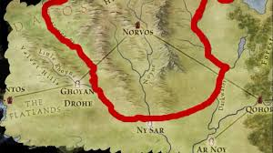 Map Of Essos Norvos One Of The Free Cities Settled By Religious Sect Essos